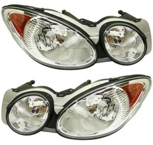 Front Headlamp Headlight Lamp Light Lh Amp Rh Pair Set For 05 07 Buick Lacrosse 119 83 Replacement Headlights Buick Lacrosse Headlamp