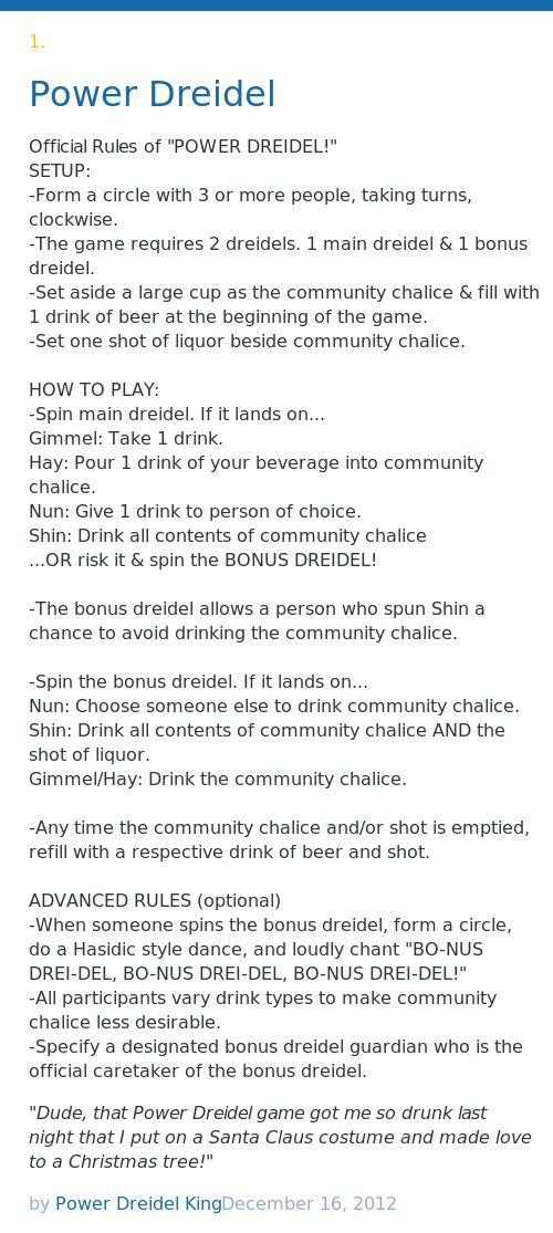 photo regarding Dreidel Rules Printable referred to as Dreidel Ingesting Video game Tips Online games Entire world