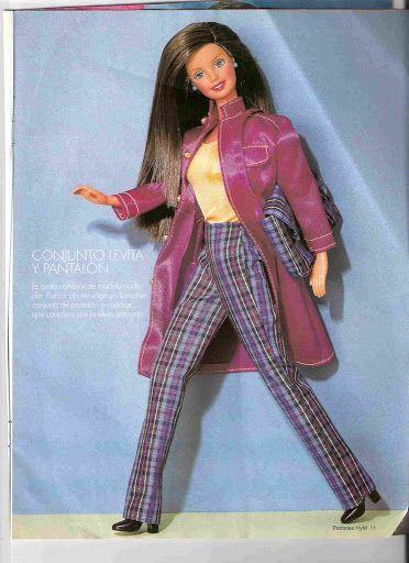 patrones de ropa de barbie | Aprender manualidades es facilisimo.com ...