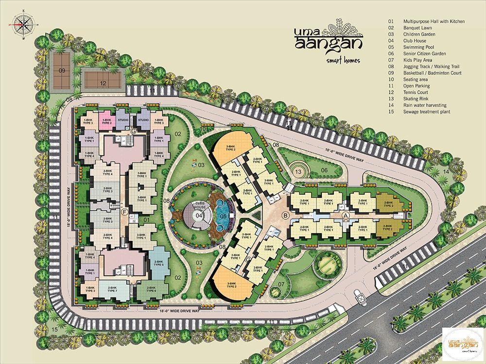 Take A Look At Uma Aangan Site Plan Siteplan