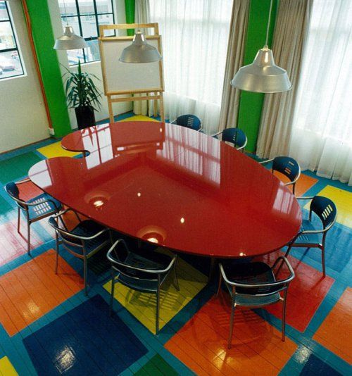 This Dining Room Displays The Least Common Color Scheme Tetradic It Takes Four Colors From T Interior Design Color Schemes Color Harmony Interior Design Color
