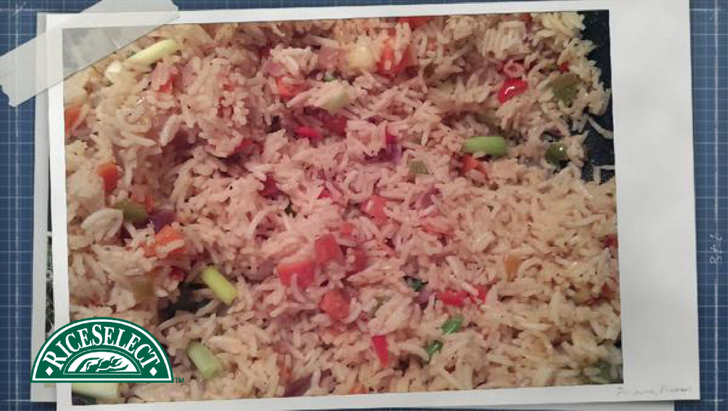 How @nupur_ghosh on Twitter rethinks rice: Vegetable Rice using Texmati® #RethinkRice #Sweeps #RiceSelect #Rice