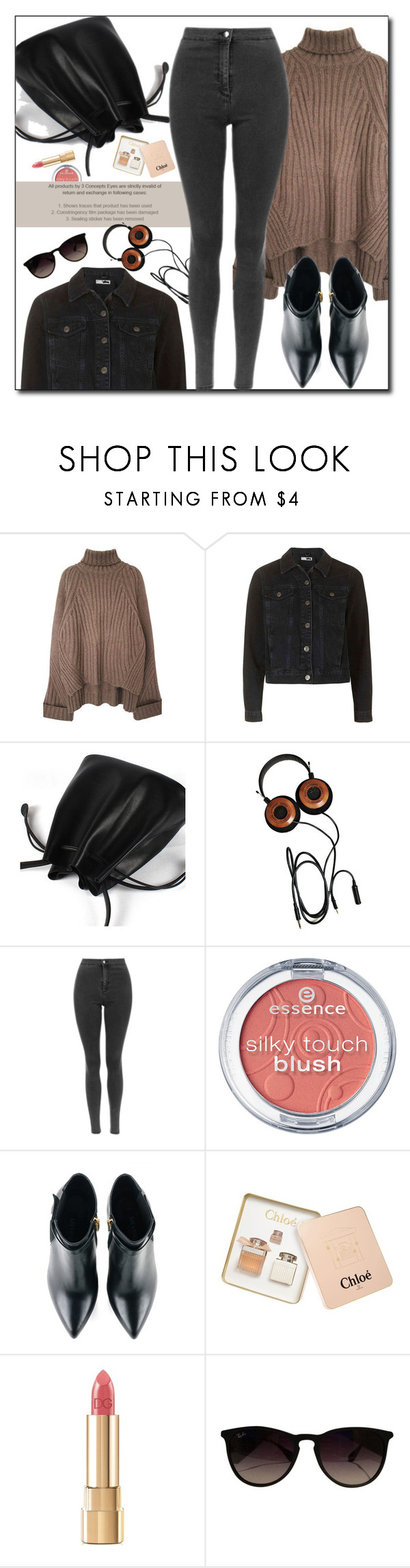 """Good Style"" by genuine-people ❤ liked on Polyvore featuring Kim Kwang, Chloé, Dolce&Gabbana and Ray-Ban"