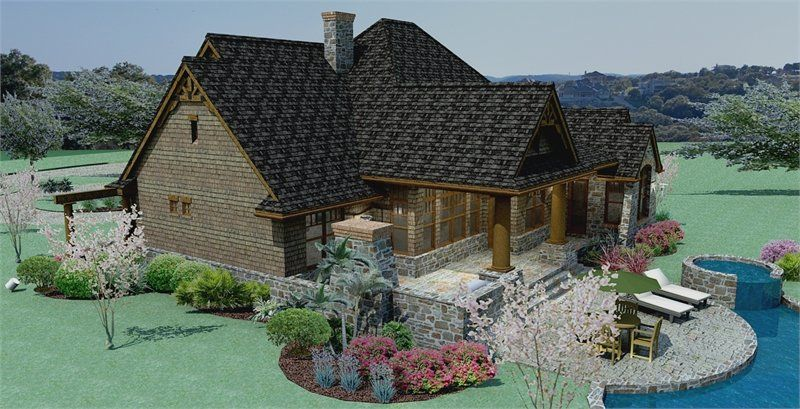 Beautiful Craftsman Style House Plan 1897 Vita Encantata