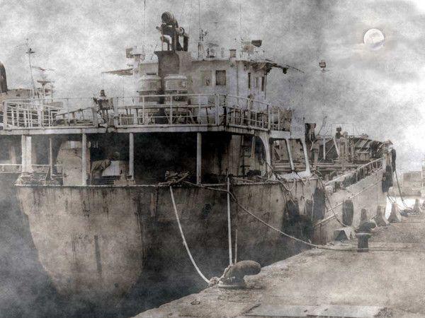 """Taip galėjo atrodyti """"Urang Medan' (Ourang Medan) laivas"""