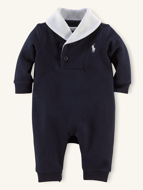 1b7d9077 Shawl-Collar Coverall - One-Pieces Layette Boy (Newborn-9M ...