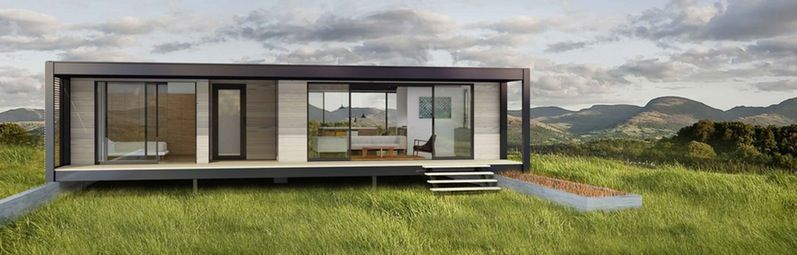 Attirant Pleasing Architecture Inexpensive Modern Prefab Home Design With Full Size  Daybed Ikea Along Aesthetic Homes Dazzling