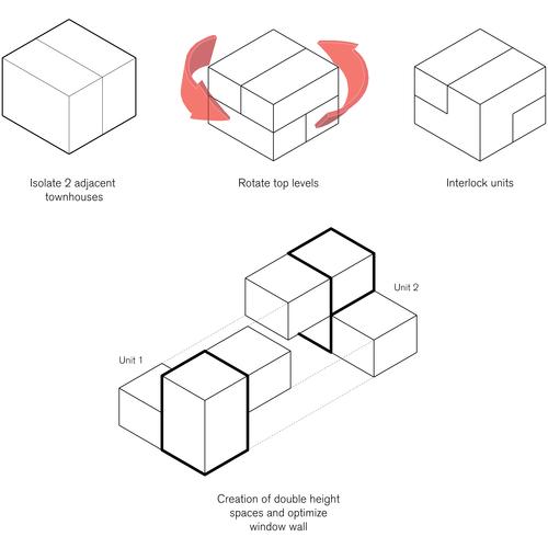 Image result for interlocking unit architecture youth for Interlocking architecture concept