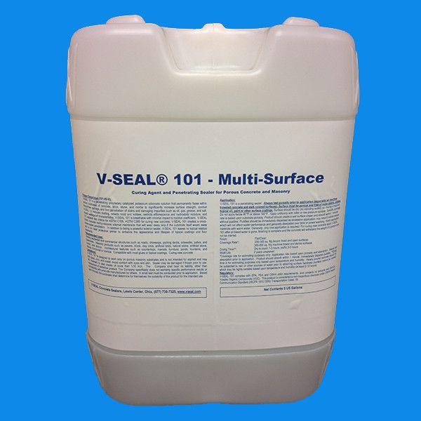 V Seal 101 5 Gallon Low Gloss Concrete Sealer Gallon