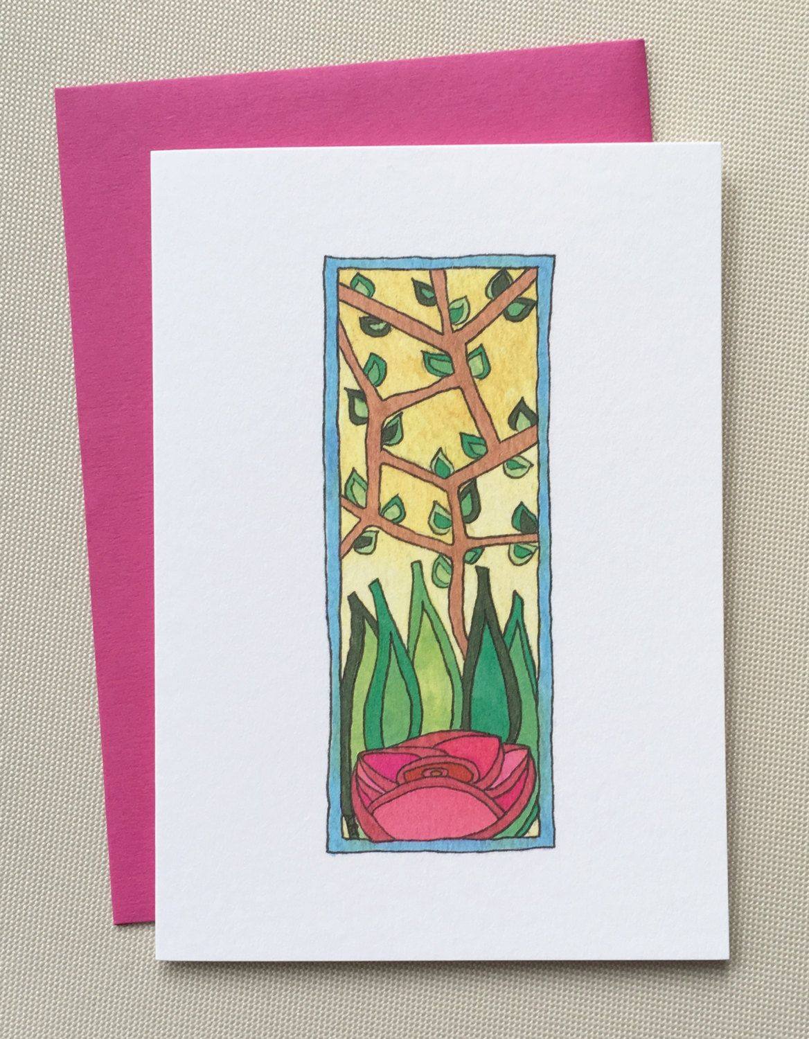 A hand drawn all occasion greeting card perfect for thank you i a hand drawn all occasion greeting card perfect for thank you i love you kristyandbryce Images