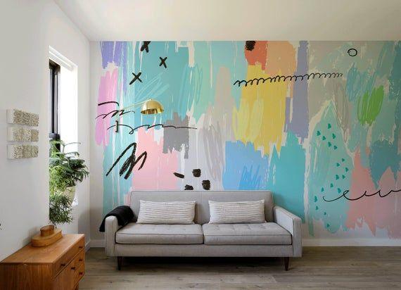 Removable Wallpaper, Scandinavian Wallpaper, Tempo