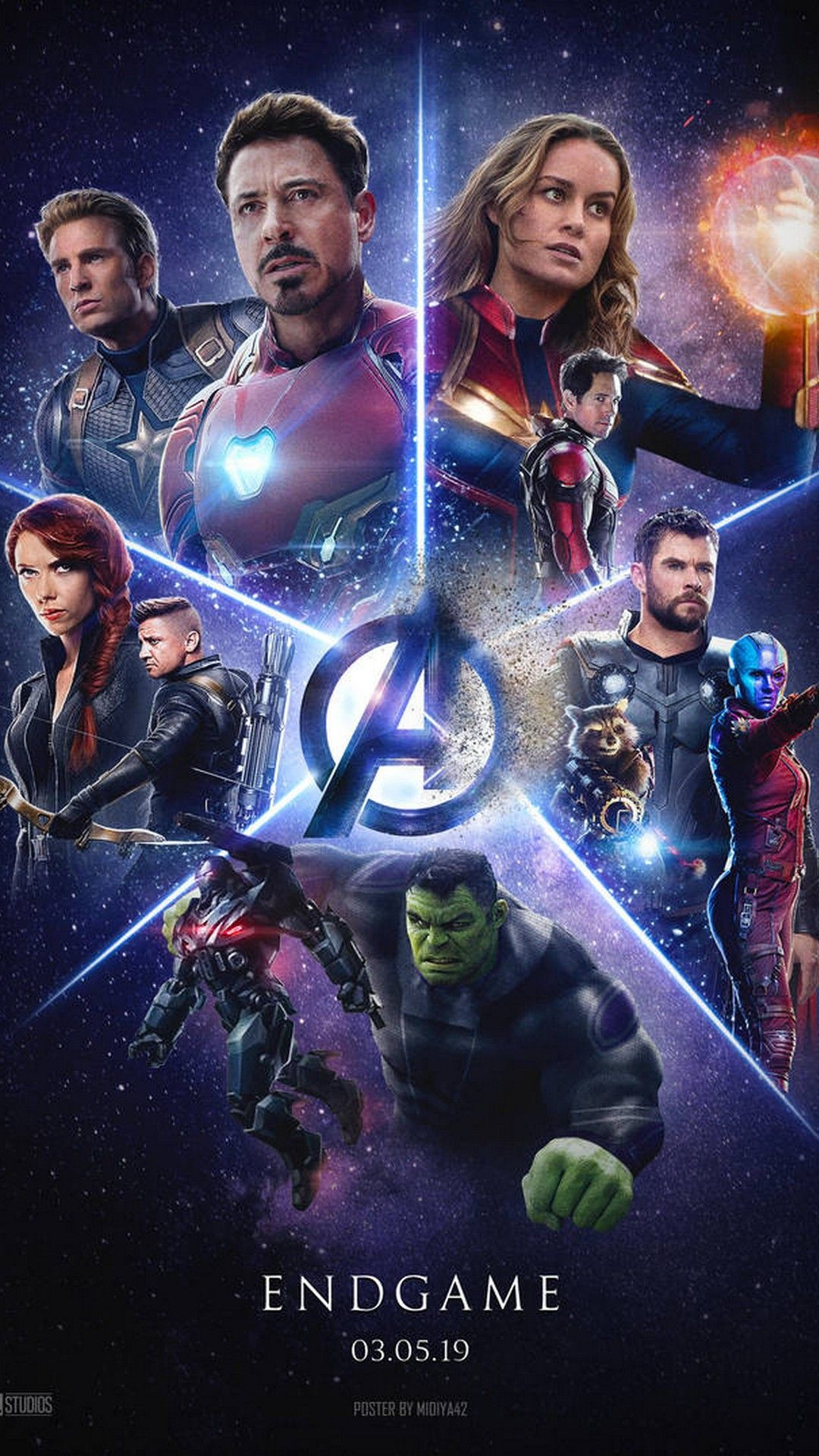 Avengers Endgame Poster With High Resolution 1080x1920 Pixel You Can Use This Poster Wallpaper For Your Desktop Co Avengers Pictures Best Avenger Marvel Films