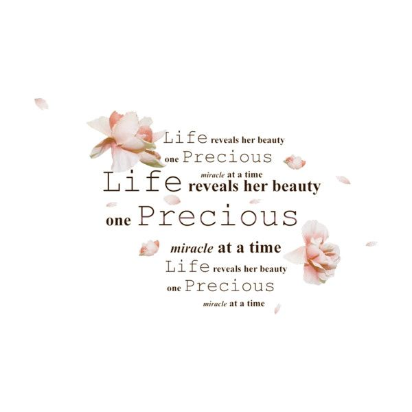 life-flowers.png ❤ liked on Polyvore featuring quotes and scritte