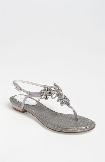 Nina 'Keegan' Sandal Silver | Nordstrom (http://shop.nordstrom