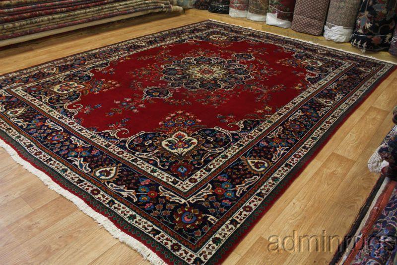 Overwhelming Floral Red Tabriz Persian Wool Oriental Area Rugs Carpet  10X13, Ebay Aminrugs, $987
