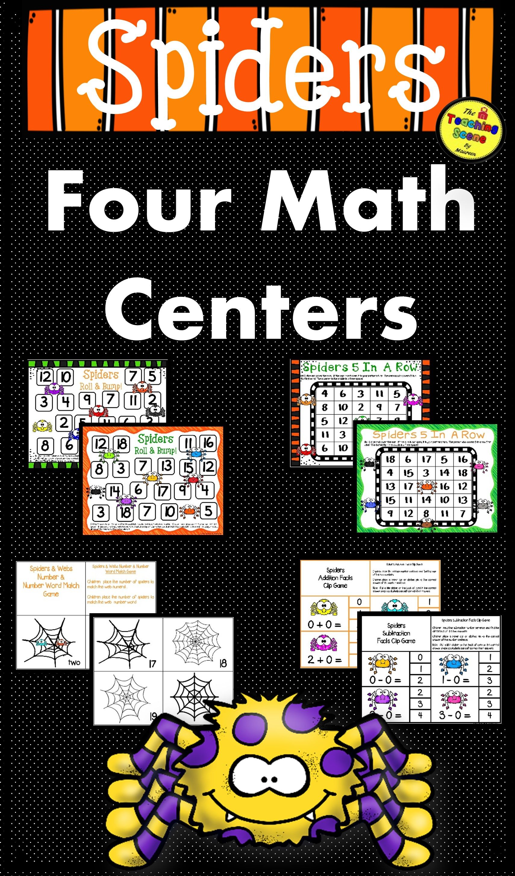 Spiders Math Centers