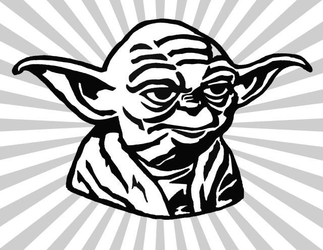 yoda art yoga Yoda drawing