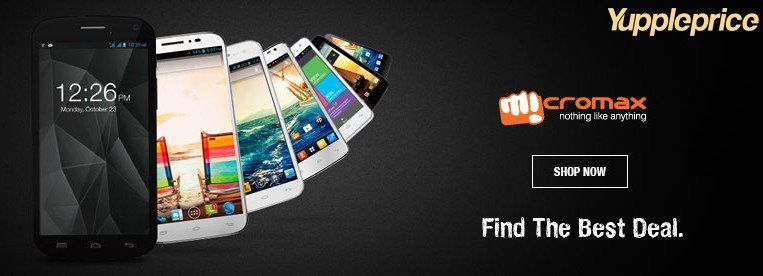 Find the best price of micromax smartphones at your