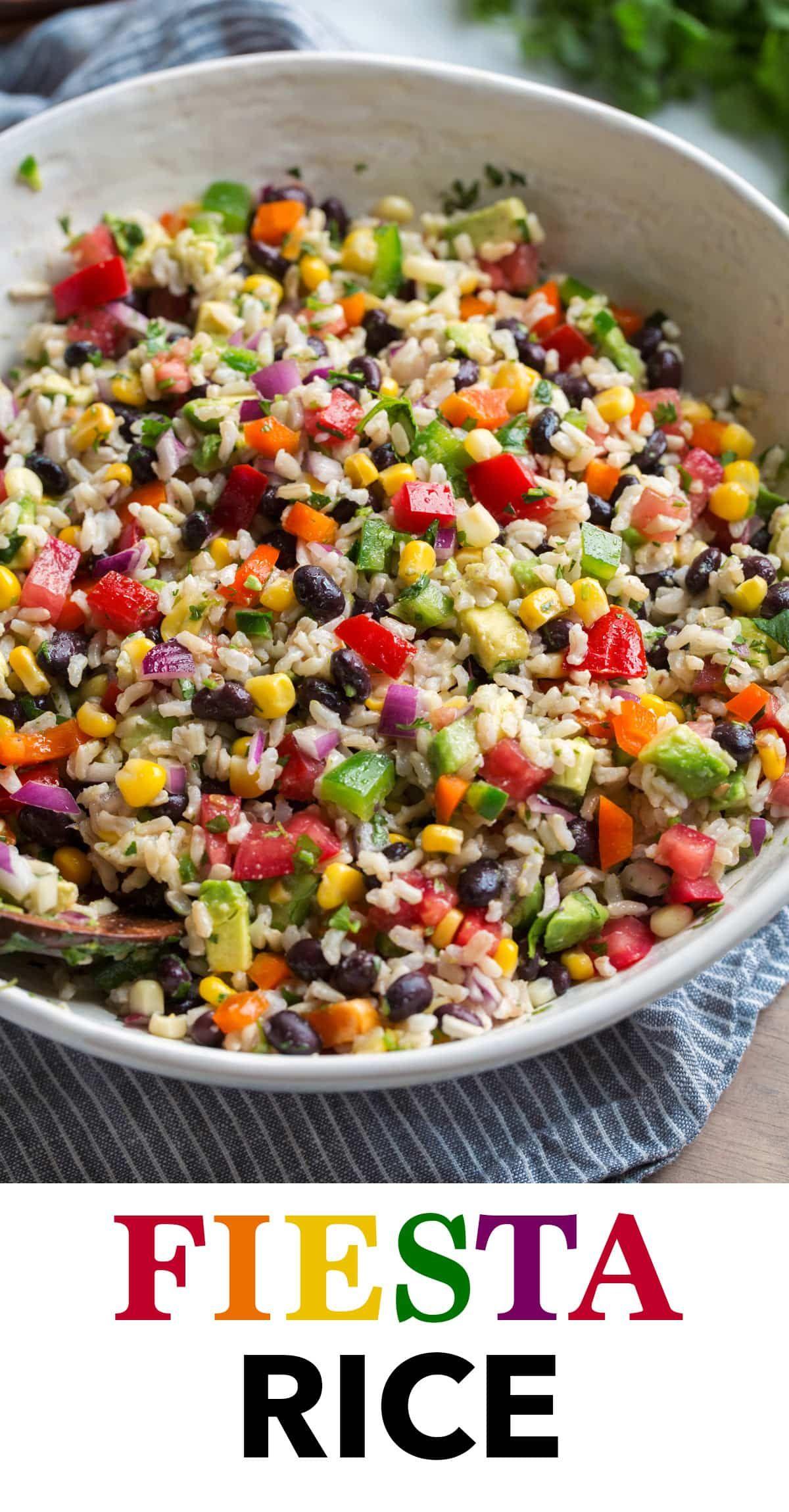 Fiesta Rice Recipe - Cooking Classy