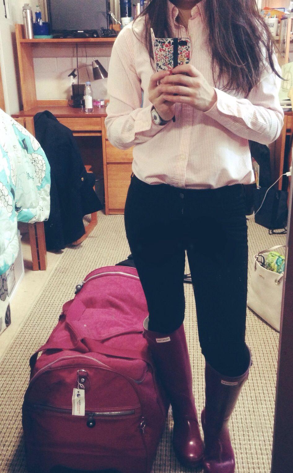 pink polo boots lauren ralph lauren shoulder bag
