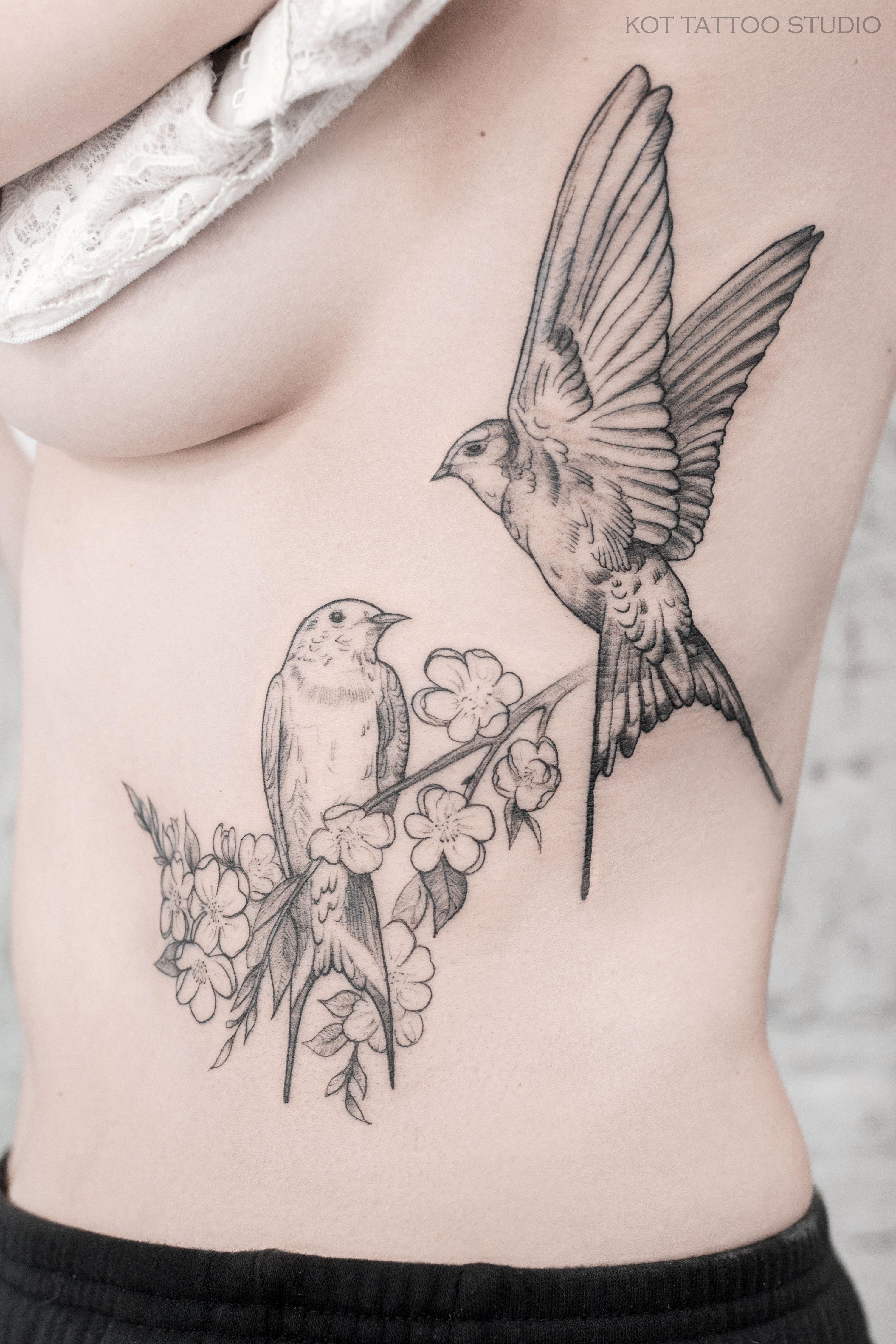 тату ласточка популярно всегда это тату ласточка для девушек