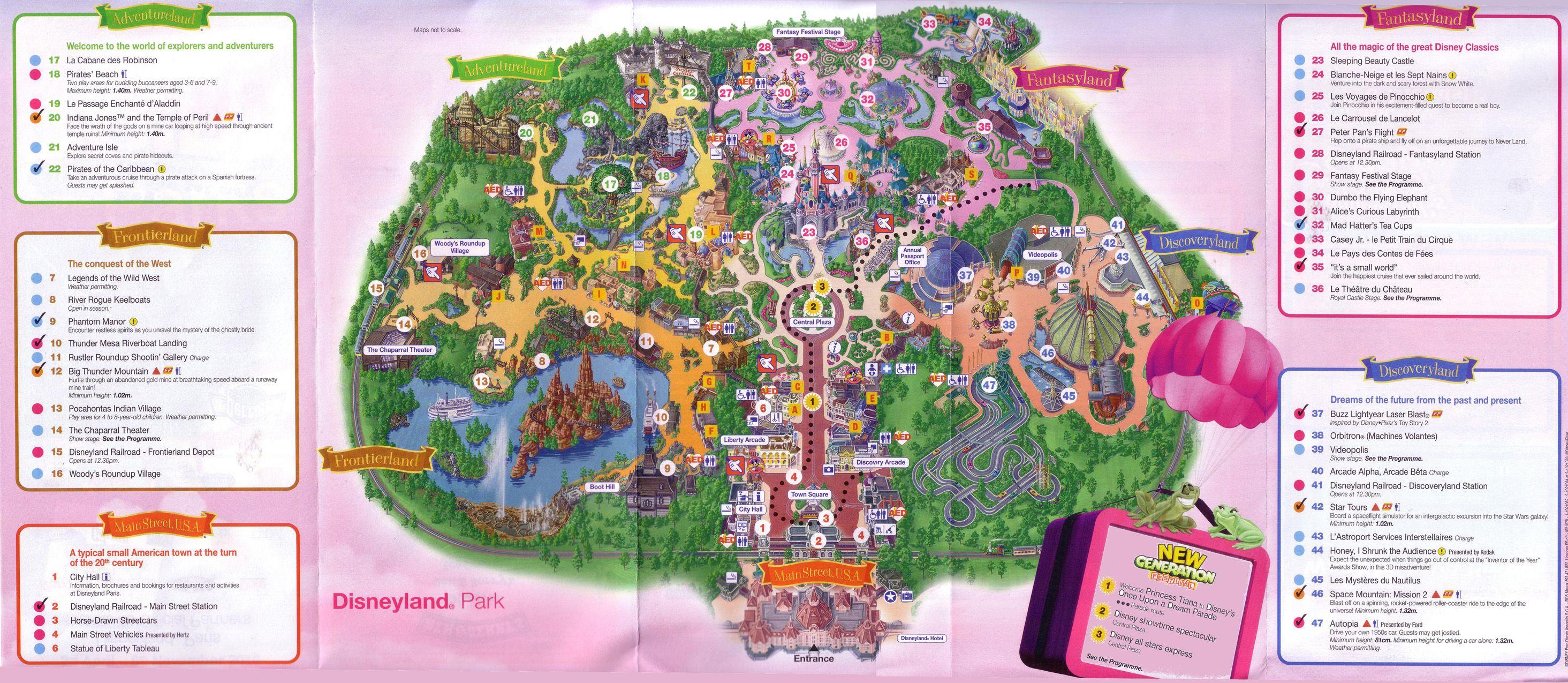 Disneyland Paris 2010 in 2019 Disneyland paris, Disney