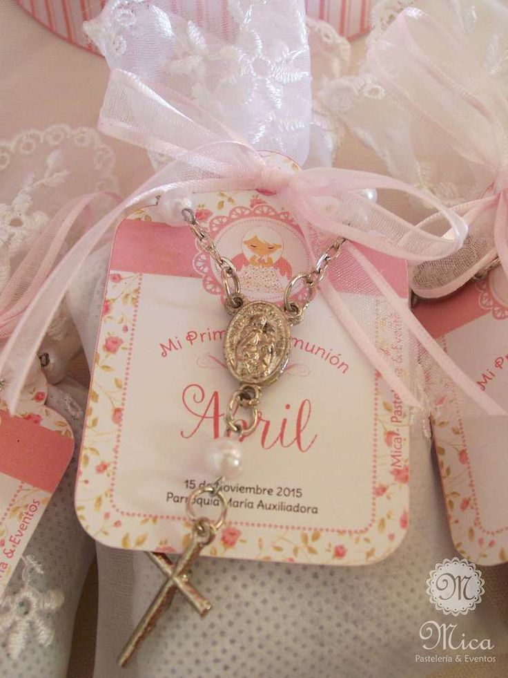 Pink Baptism Party Ideas Photo 5 Of 65 Baptism Party Favors Baptism Favors Girl Baptism Party Supplies