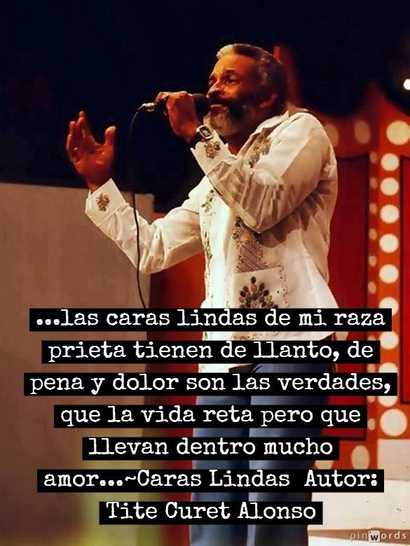 Ismael Rivera; Cancion: Caras Lindas; Author: Tite Curet Alonso; Album: Esto Es Lo Mio 1978