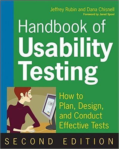 [Handbook of Usability Testing: How to Plan, Design, and Conduct Effective Tests] (By: Jeffrey Rubin)