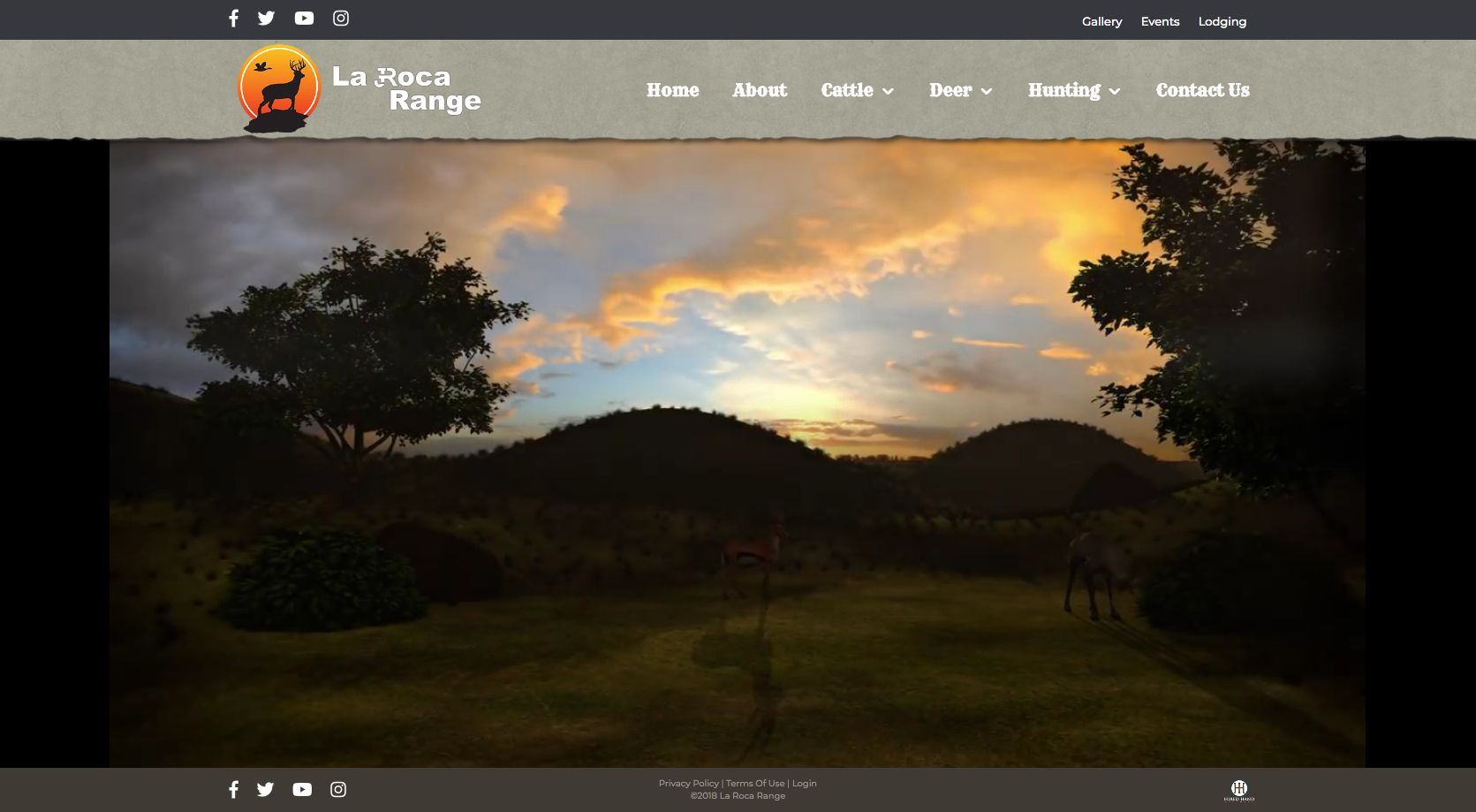 Websitelaunch Alert Breederwebsite The New Hiredhandpowered Website For La Roca Range Is Now Live And Ready To View Create Website Cattle Whitetail Deer