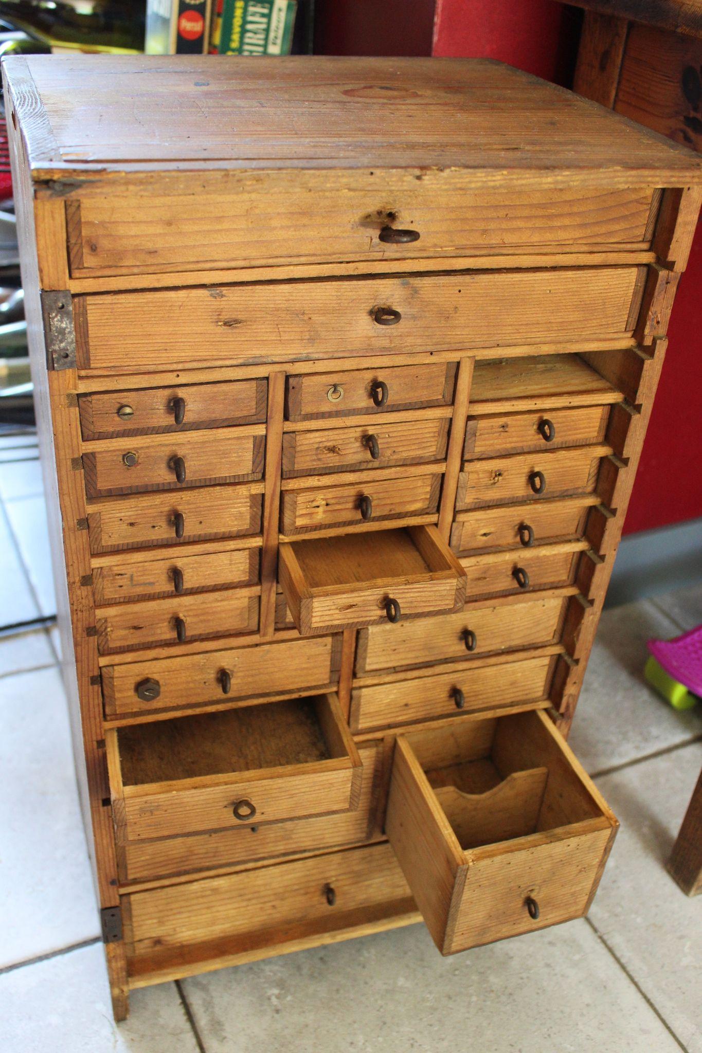 meuble de rangement petit tiroir recherche google id es pour athelier bois pinterest. Black Bedroom Furniture Sets. Home Design Ideas