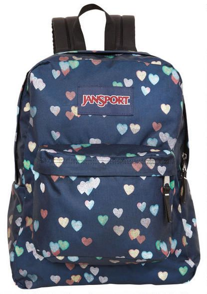 1c166b743 Jansport® Blue Hearts Backpack - View All Accessories - Accessories -  dELiA*s