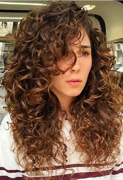 10 Thick Curly Long Hair Frisur Lange Haare Locken Lockige Frisuren Haarschnitt Ideen