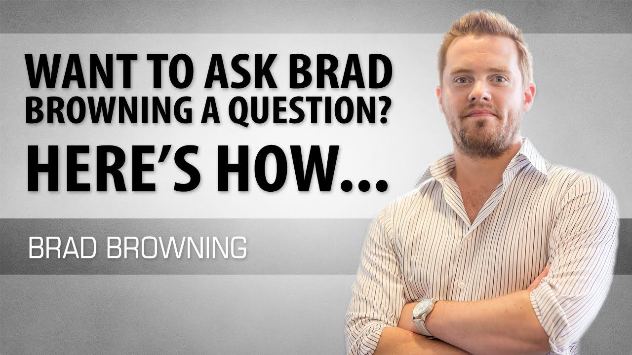 Got a relationshiprelated question brad answers