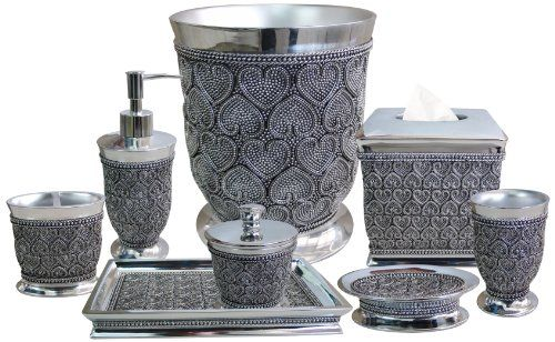 nu steel Beaded Heart 8-Piece Bath Accessories Set nu steel http://www.amazon.com/dp/B00FB9ONZS/ref=cm_sw_r_pi_dp_S9r8tb1G9E9YM