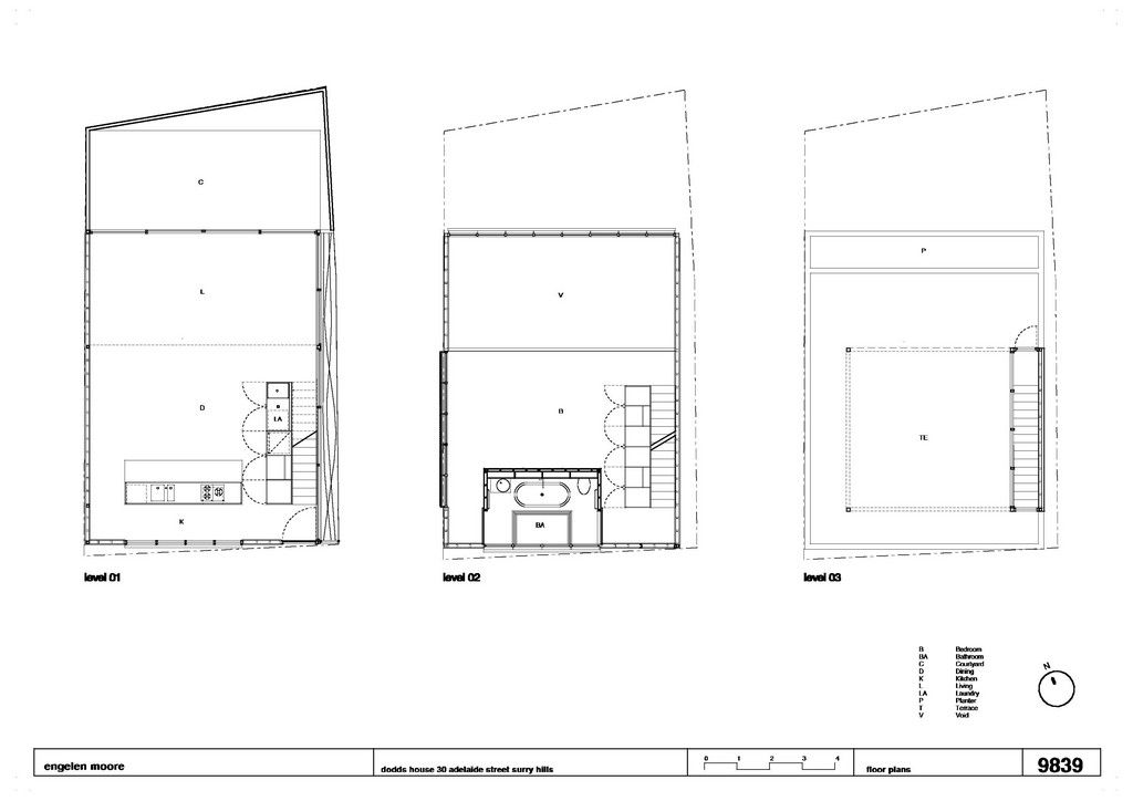 I Like The Simple Area Lables Dodds House By Ian More Architects Floor Plans How To Plan Architect