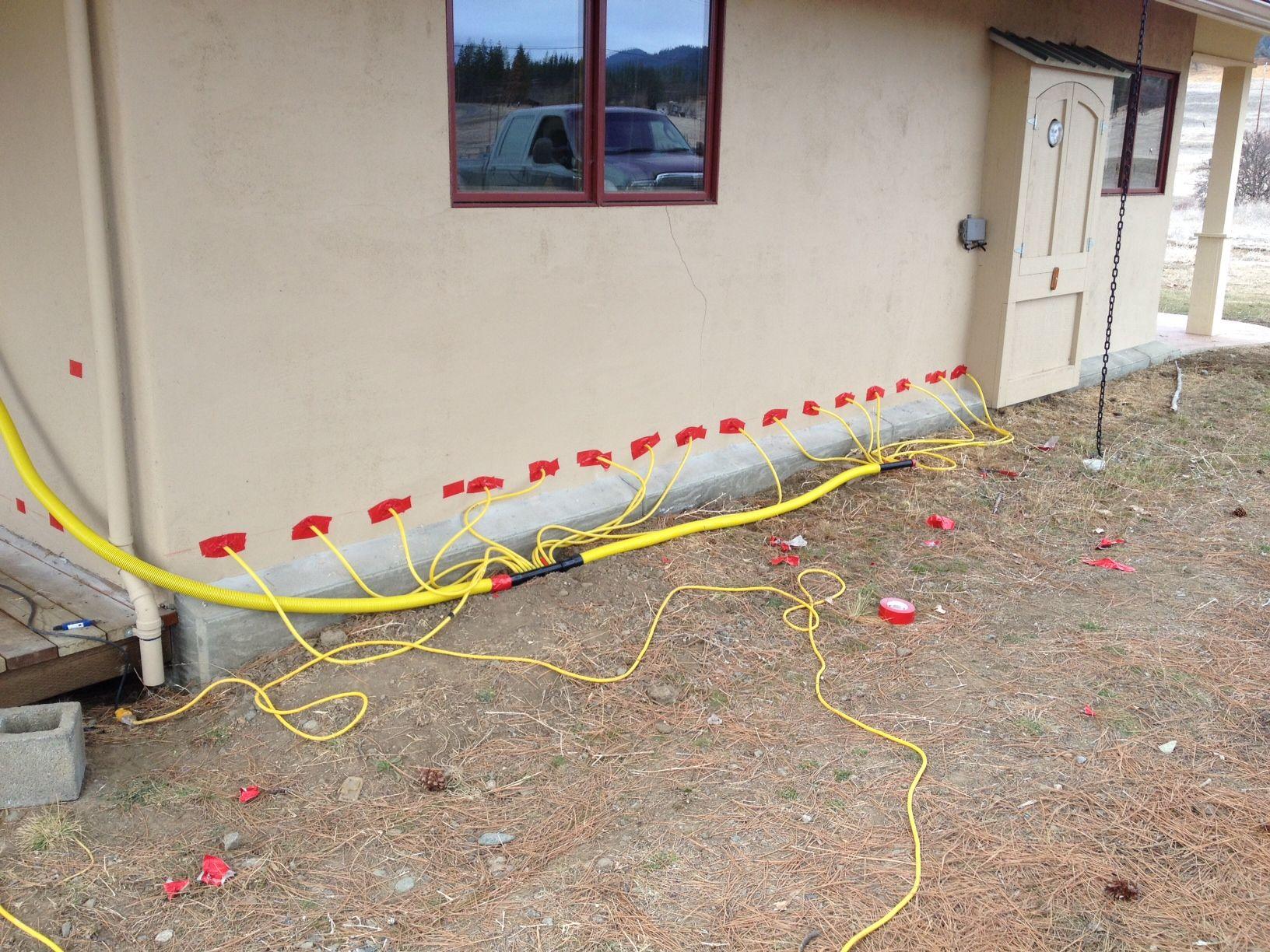 Repairing Water Damaged Straw Bale Walls Straw Bales Water Damage Cord Wood