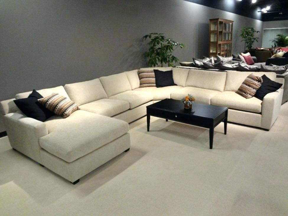 down filled sectional sofa in 2019 | Large sectional sofa, U ...