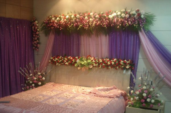 Bedroom Design For First Night Wedding Night Room Decorations