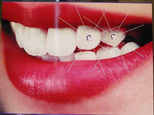 Beautiful tooth jewels crystal teeth stones 50 gems kit + 20 pcs ...