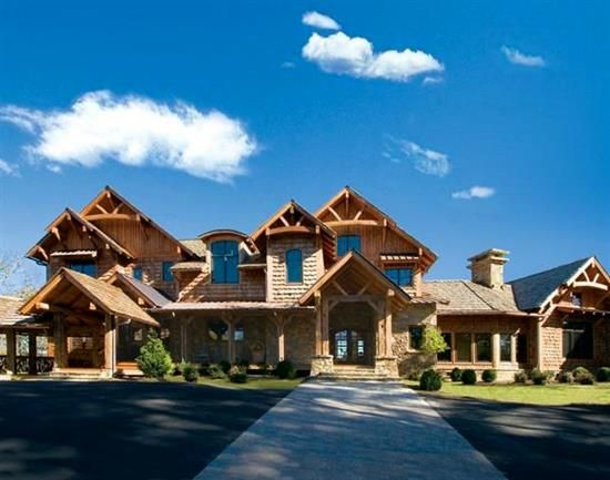 blue ridge lodge natural element homes floor plans pinterest
