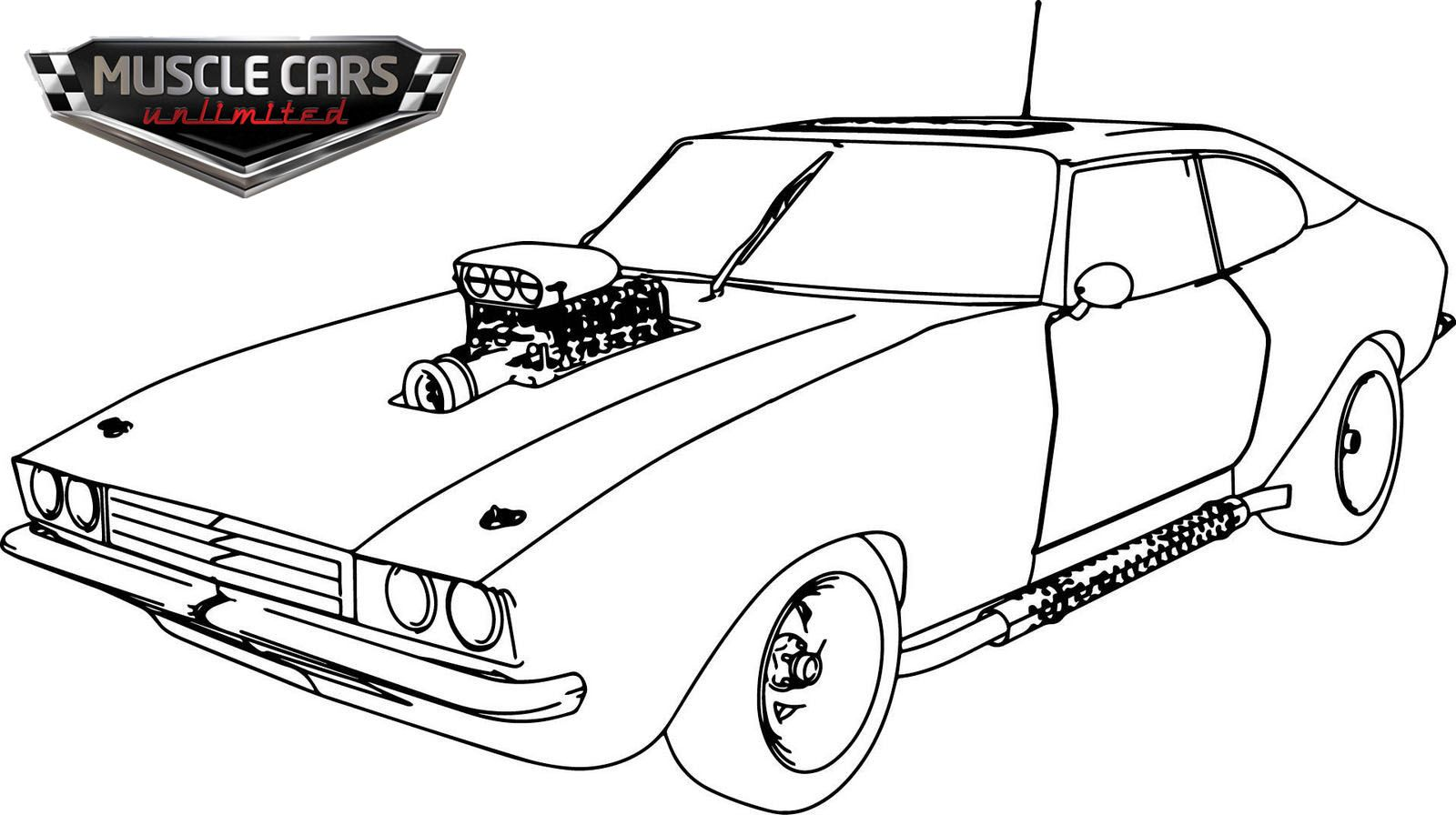 5 Perfect Muscle Car Coloring Pages For All Ages Race Car Coloring Pages Cars Coloring Pages Coloring Pages For Kids