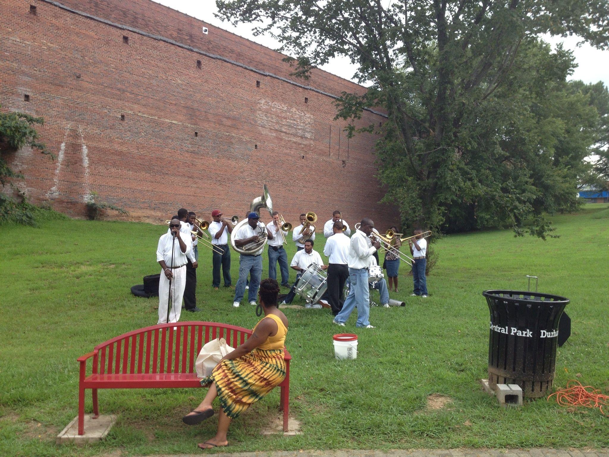 Spiritual Sound Brass Band perform at farmer's Market December 2013 and April2014