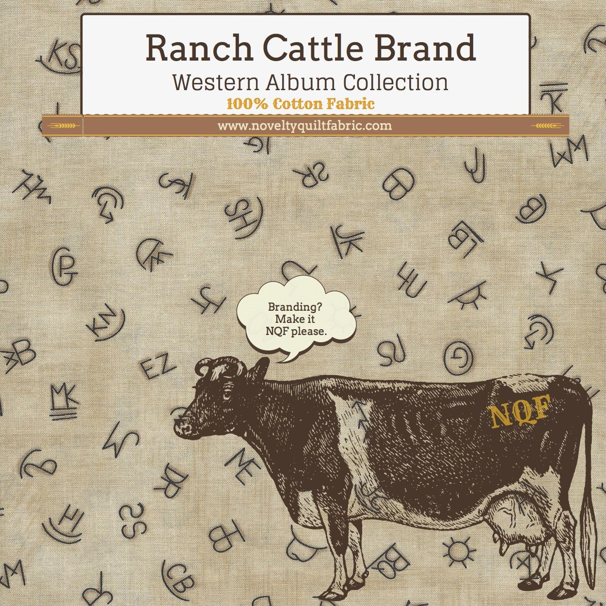 For the rodeo fan in your family cowboy or ranch hand this for the rodeo fan in your family cowboy or ranch hand this branding fabric speaks to all sorts of cattle keepers 100 cotton with dozens of different buycottarizona