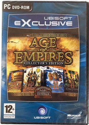 Age Of Empires 1 2 Collectors Edition Pc