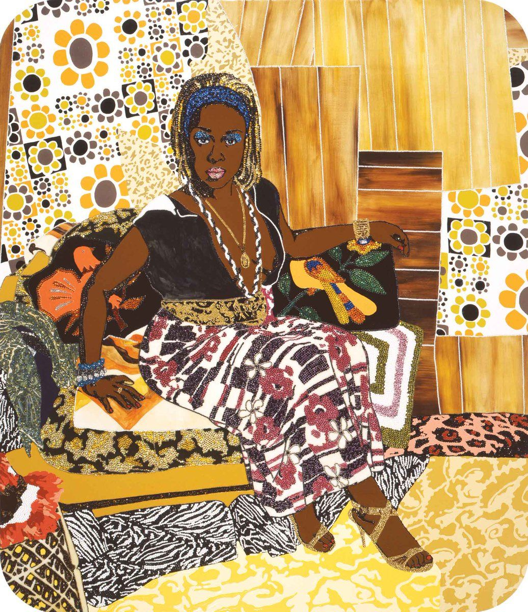 African american artist mickalene thomas this girl could