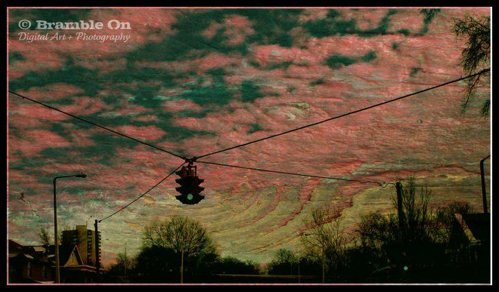 """Skyline"" © Lori J. Southall dba Bramble On Digital Art + Photography"