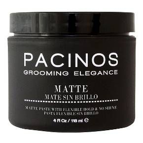 Pacinos Matte Styling Paste 4 Oz Pomade Style Paraben Free Products Grooming