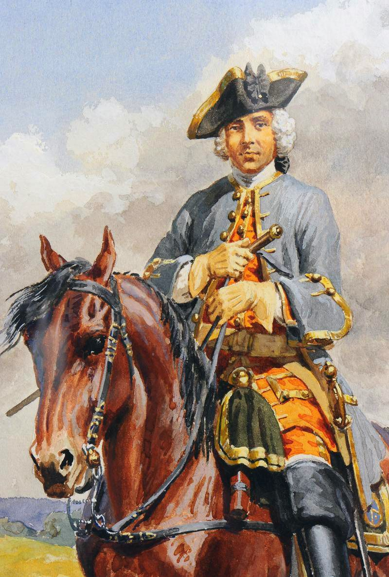 The Seven Most Popular Types Of Businesses: French Cavalry Officer During The Seven Years War