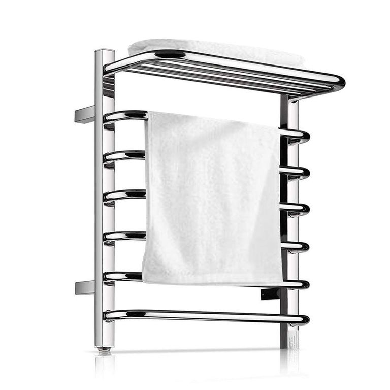 This Product Will Turn Your Bathroom Into A Spa In 2020 Heated Towel Rack Towel Rack Towel Warmer